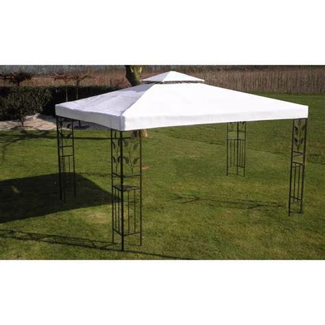 gartenpavillon rund 4 m vidaxl gartenpavillon wei 223 3 x 4 m g 252 nstig kaufen vidaxl de