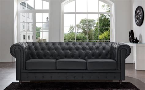 Gray Leather Chesterfield Sofa Gray Leather Chesterfield Sofa Thesofa