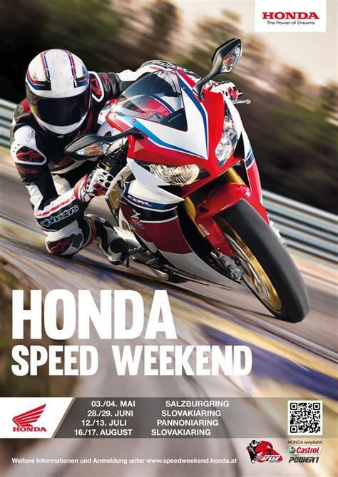 Motorrad Allrounder Einsteiger by Honda Speedweekends 14 Event