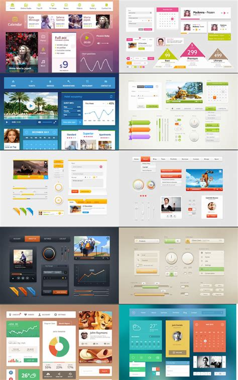 10 best free bootstrap html css ui kits designerslib com 20 best free html css3 ui kits designmaz