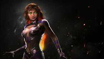 Starfire is available now for injustice 2 pushstartplay