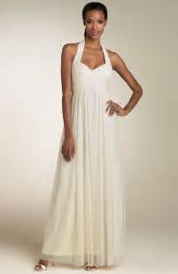 casual wedding dresses behind the mute button