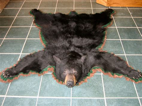 how to skin a black for a rug taxidermy mounts for sale grizzly rugs brown black invitations ideas