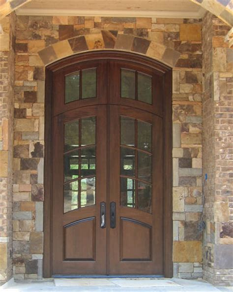 lovely wood exterior french doors  country french