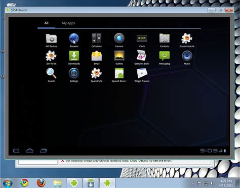 windows emulator for android android browser emulator windows 7 nexus s xoom tablet flickr photo