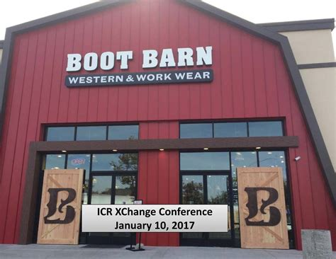 boot barn boot barn boot presents at 2017 icr conference boot
