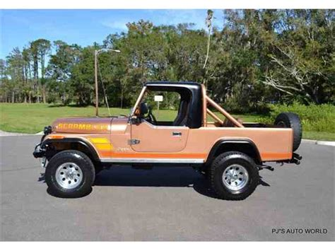 vintage jeep scrambler classic jeep cj8 scrambler for sale on classiccars com