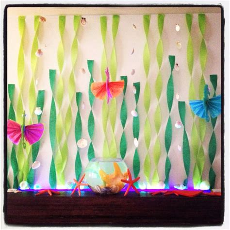 The Sea Decoration by The Sea Mantle Decorations Baby Shower Ideas