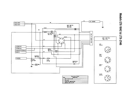 craftsman mower wire diagram wiring diagram manual