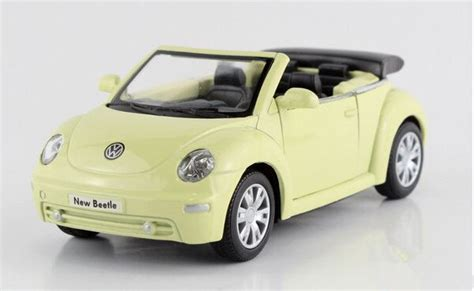 volkswagen sports car models kinsmart 1 32 volkswagen beetle convertible sports car
