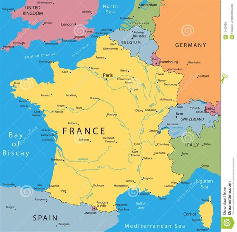france map of france france map jpeg paris eiffel tower vector map of france stock vector illustration of
