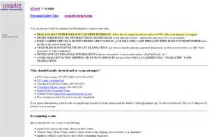 keep clear of craigslist scams pcworld