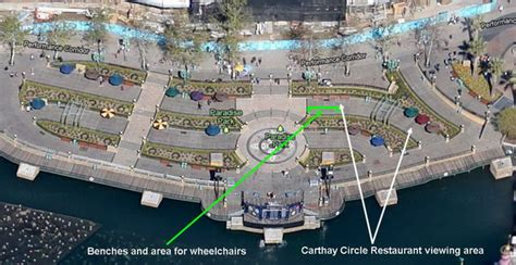 world of color viewing areas carthay circle restaurant a taste of elegance the dis