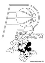 indiana basketball coloring pages indiana pacers nba coloring pages
