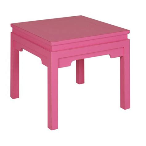 Pink Table L Anji Square L Table In Pink Nj706 P Cp
