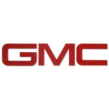 gmc billet bed rail letters choose color