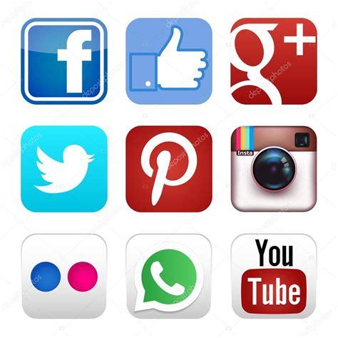 imagenes redes sociales iconos iconos de redes sociales vector de stock 68054091