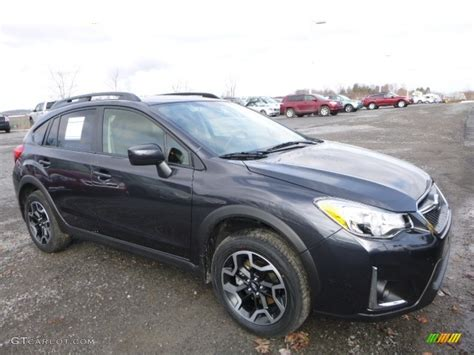 grey subaru crosstrek 2017 2017 dark gray metallic subaru crosstrek 2 0i premium