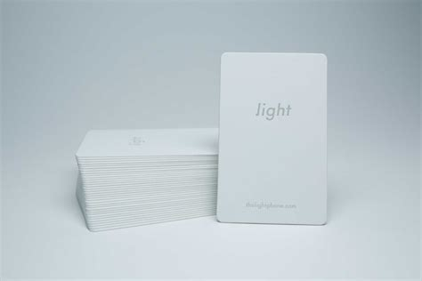Light On Phone Cool Card Light Phone Paperspecs