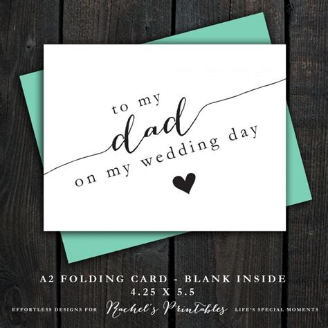 thank you letter to on wedding day to my on my wedding day card diy instant card