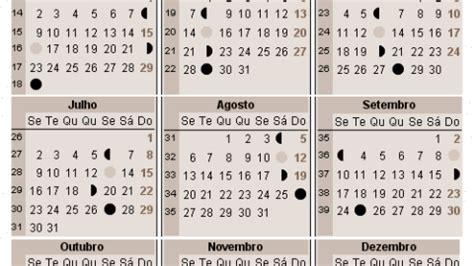 Calendario Lunar 2018 Calend 225 Lunar 2017 A Gravidez