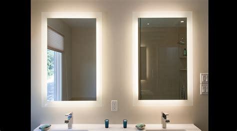 backlit mirror bathroom mirror light backlit mirrors best free home