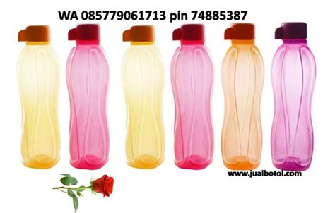 Botol Air Tupperware 750ml harga botol air tupperware jual botol kaca selai madu