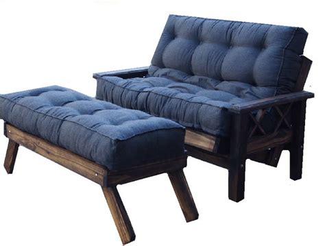 futon de pino 2 cuerpos futon 2 cuerpos pata 7x7 cipres colchon chenille