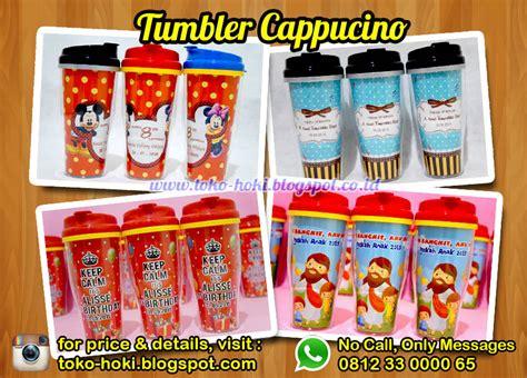 Tumbler Souvenir Ultah souvenir ulang tahun anak murah tumbler cappucino