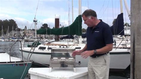 napoleon boat grill magma cabo grill at west marine youtube