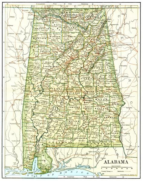 map of alabama cities map of alabama cities and towns