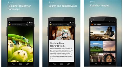 image search app android microsoft updates search for android with new built in screen browser