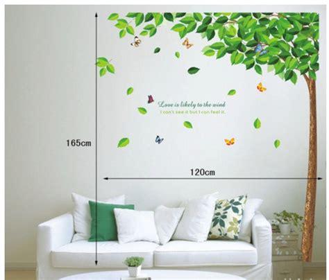 Tree Jm7147 Stiker Dinding Wall Sticker Murah stiker list tembok stiker dinding murah
