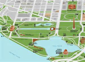 National Mall Washington Dc Map by National Mall Map Pictures To Pin On Pinterest
