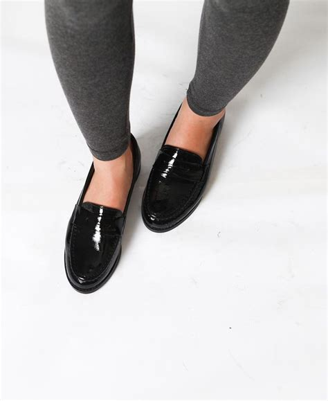 womens black patent leather loafers black patent leather loafers geeky stuff i like