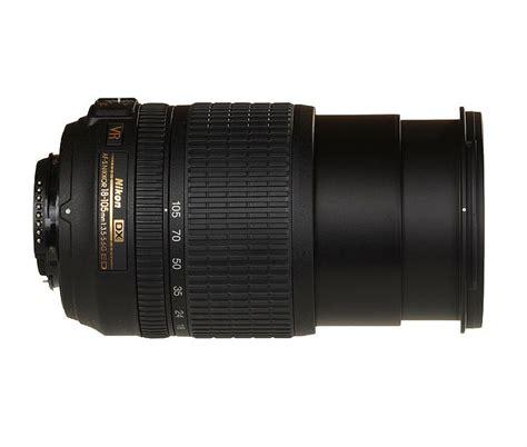 Lensa Nikkor 18 105mm Vr nikon af s dx nikkor 18 105 mm f 3 5 5 6g ed vr lens nikon flipkart