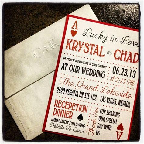 Vegas Themed Wedding Invitations by Best 25 Vegas Themed Wedding Ideas On Vegas