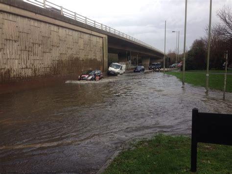 fareham   floods  century fareham