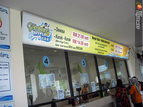 Harga The Shop Water bukit gambang water park sawanila