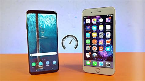 samsung galaxy    iphone   speed test  youtube
