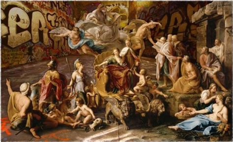 classic paintings classical in modern contexts 25 clever artistic