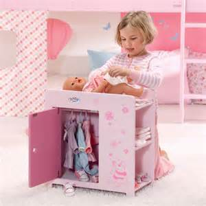 Baby Born Wardrobe And Changing Table Baby Born Wooden Wardrobe And Changing Table Review Compare Prices Buy