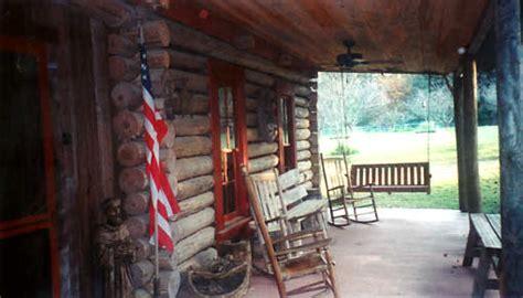 log cabin lodge ethridge farm bed  breakfast