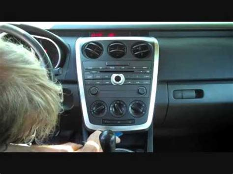 2007 mazda cx 7 aux input mazda cx 7 stereo removal 2007 2009