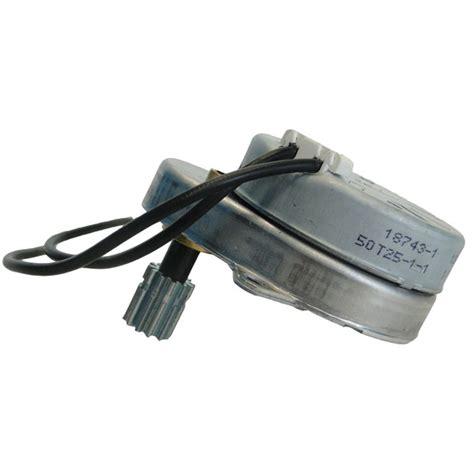 water softener motor fleck 5600 timer motor 120 volt pn 18743