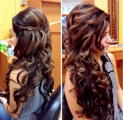 curled hairstyles instagram long curly wedding hair picture found on instagram