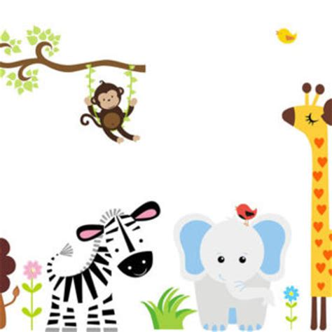 baby jungle wall stickers shop jungle room wall decals on wanelo