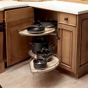 Kitchen Corner Cabinet Storage Ideas by Amazing Corner Kitchen Cabinet Ideas Kitchenstir Com