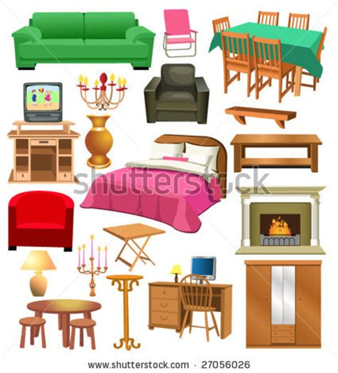 living room items list living room table clipart 21
