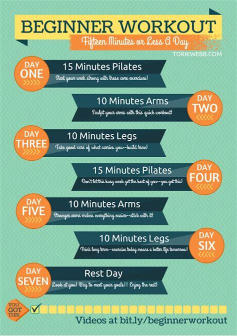 beginner workout 15 minutes or less simple easy